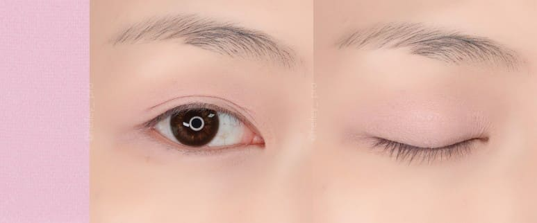 ROM&ND X NEON MOON BETTER THAN EYES ALL COLORS EYE SWATCH REVIEW