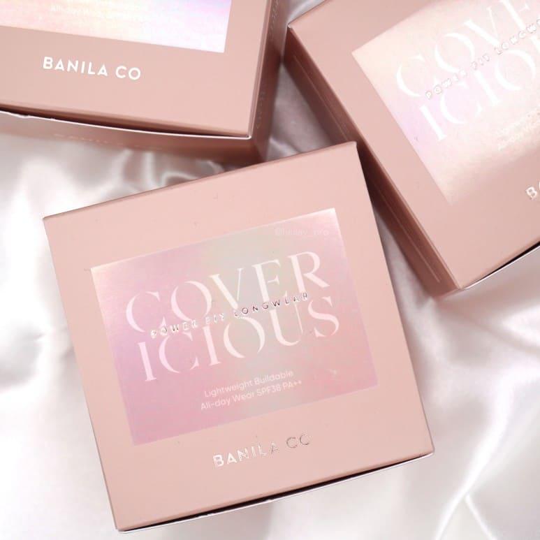 BANILA CO'S COVERICIOUS POWER FIT LONGWEAR CUSHION REVIEW