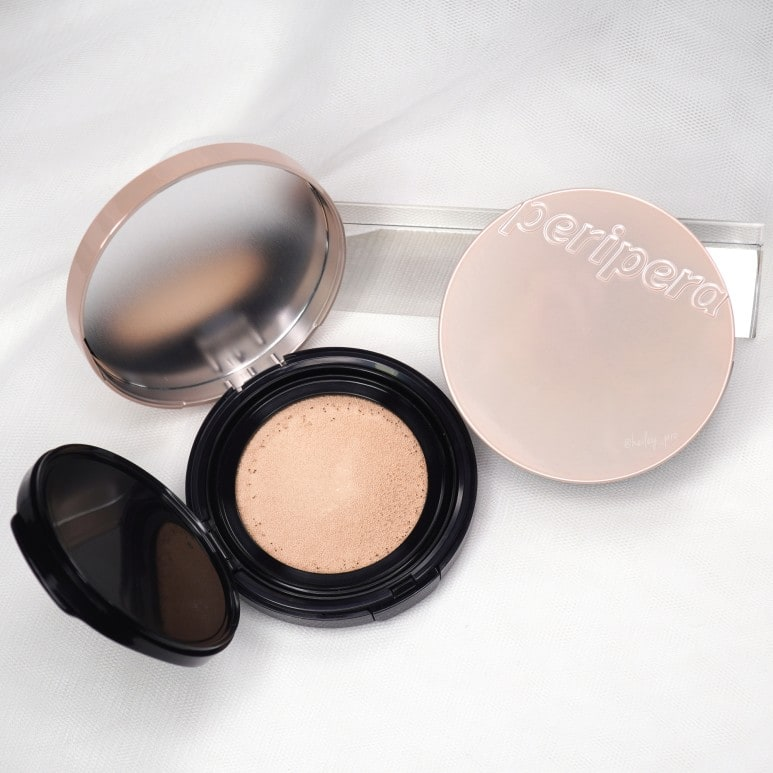 PERIPERA'S DOUBLE LONGWEAR COVER CUSHION REVIEW