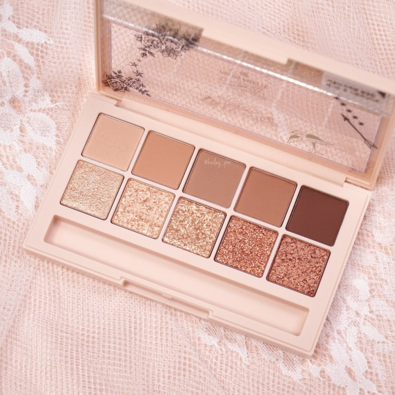 CLIO'S PRO EYE PALETTE NO.8 INTO LACE REVIEW