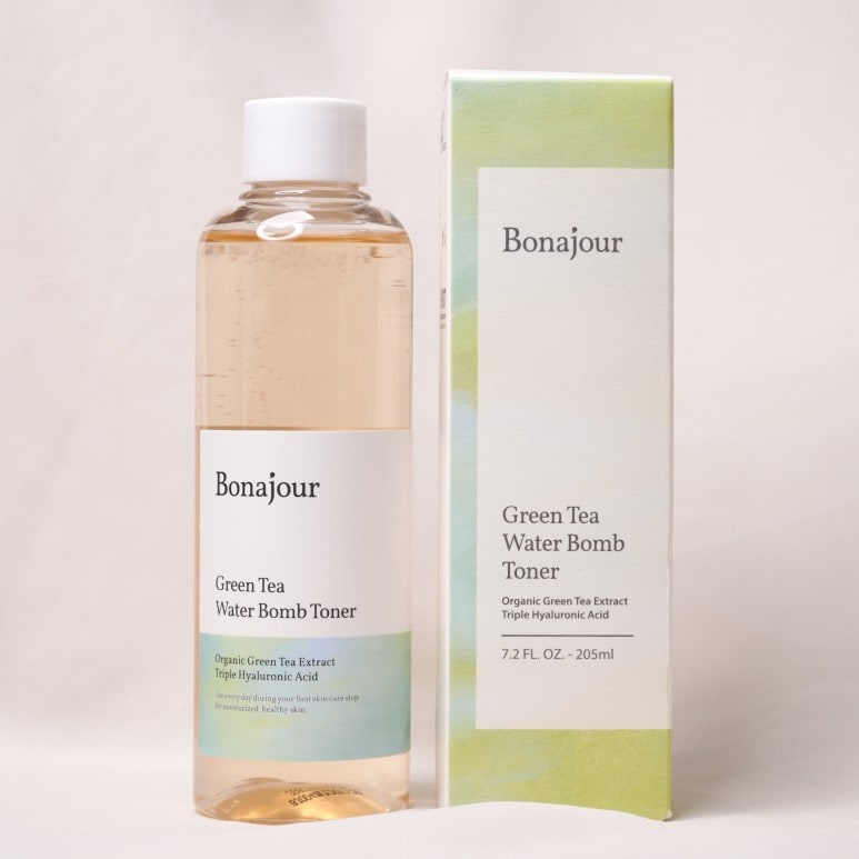 BONAJOUR'S GREEN TEA WATER BALM TONER REVIEW