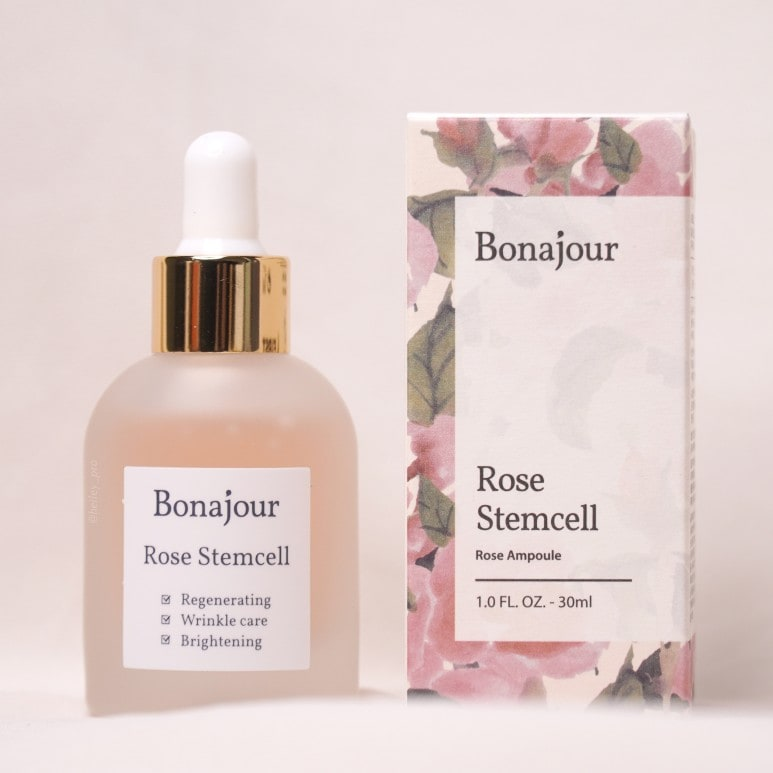 BONAJOUR'S ROSE STEM CELL AMPOULE REVIEW