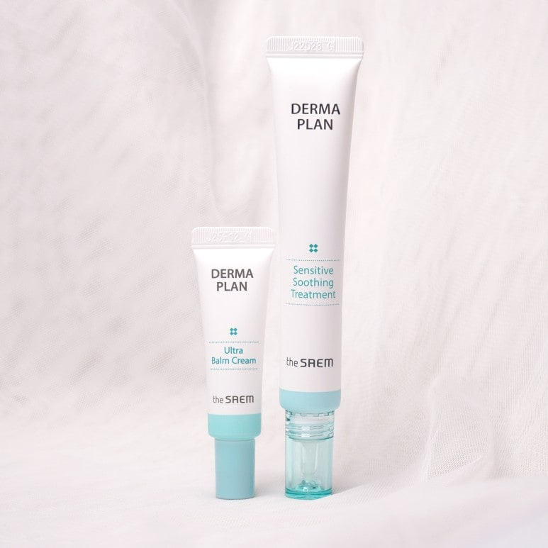 THE SAEM'S DERMA PLAN SENSITIVE SOOTHING TREATMENT REVIEW