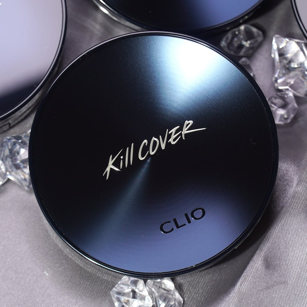 CLIO'S KILL COVER FOUNWEAR CUSHION ALL NEW SHADES FACE SWATCH REVIEW