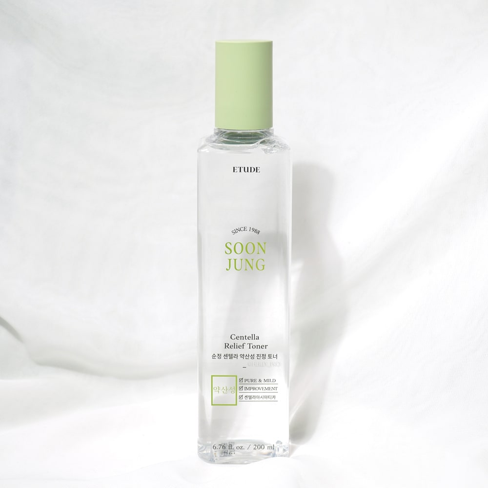 ETUDE HOUSE'S SOONJUNG CENTELLA RELIEF TONER REVIEW