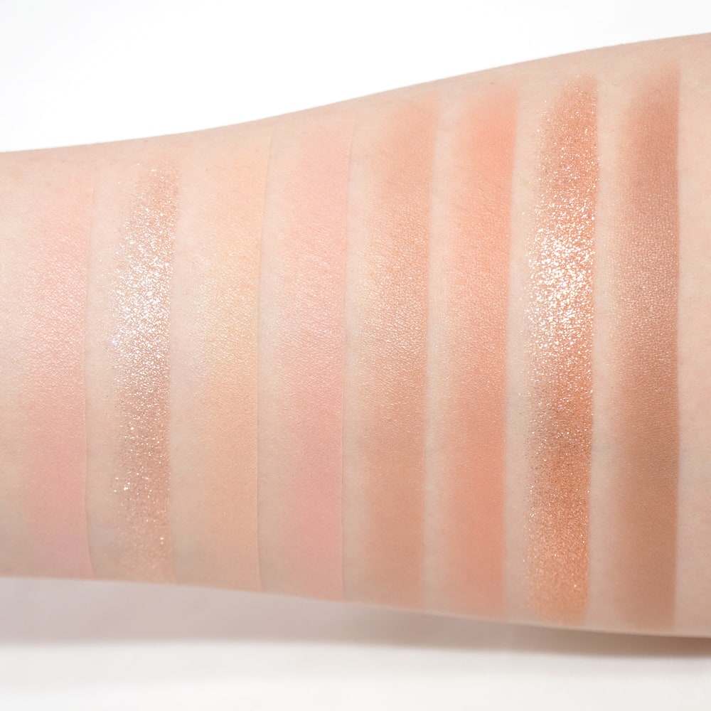 PERIPERA'S ALL TAKE MOOD PALETTE NEW COLOR NO. 5 WHISPER OF MILKY SPRING SWATCH
