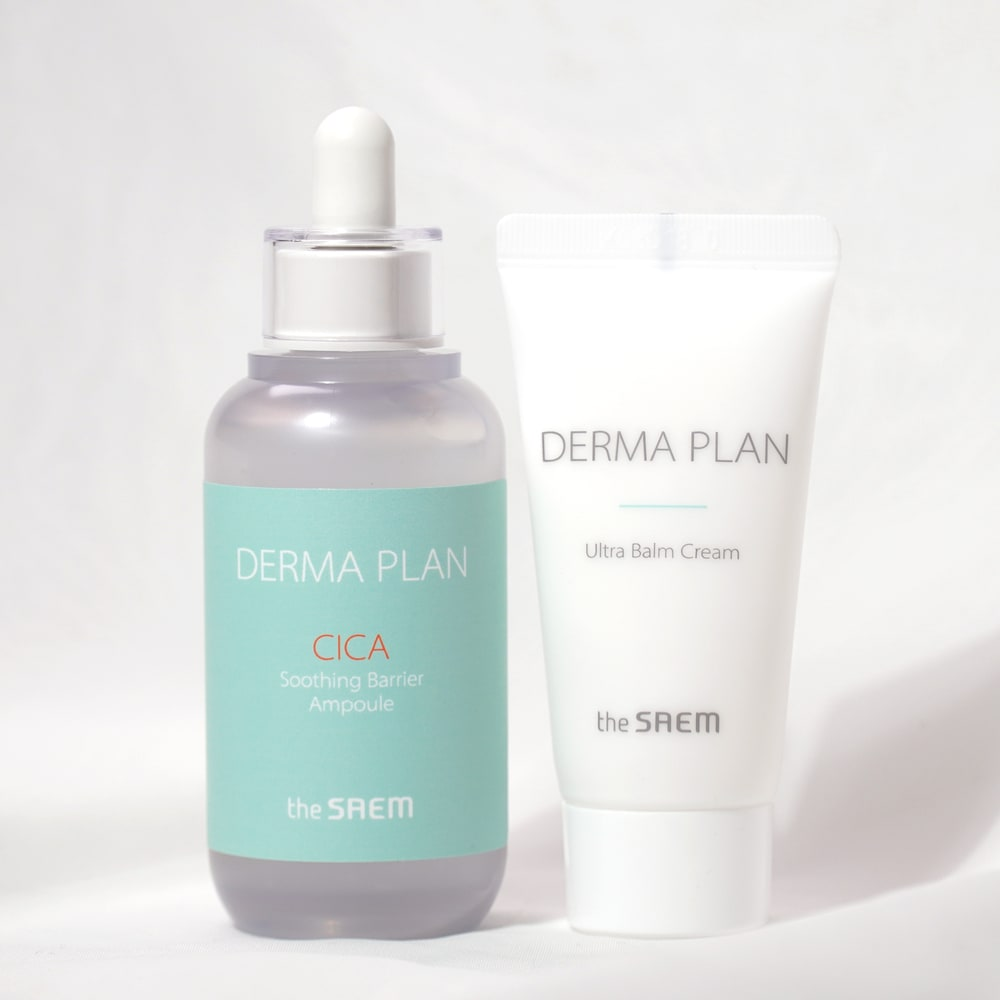 THE SAEM'S DERMA PLAN CICA SOOTHING BARRIER AMPOULE SET REVIEW