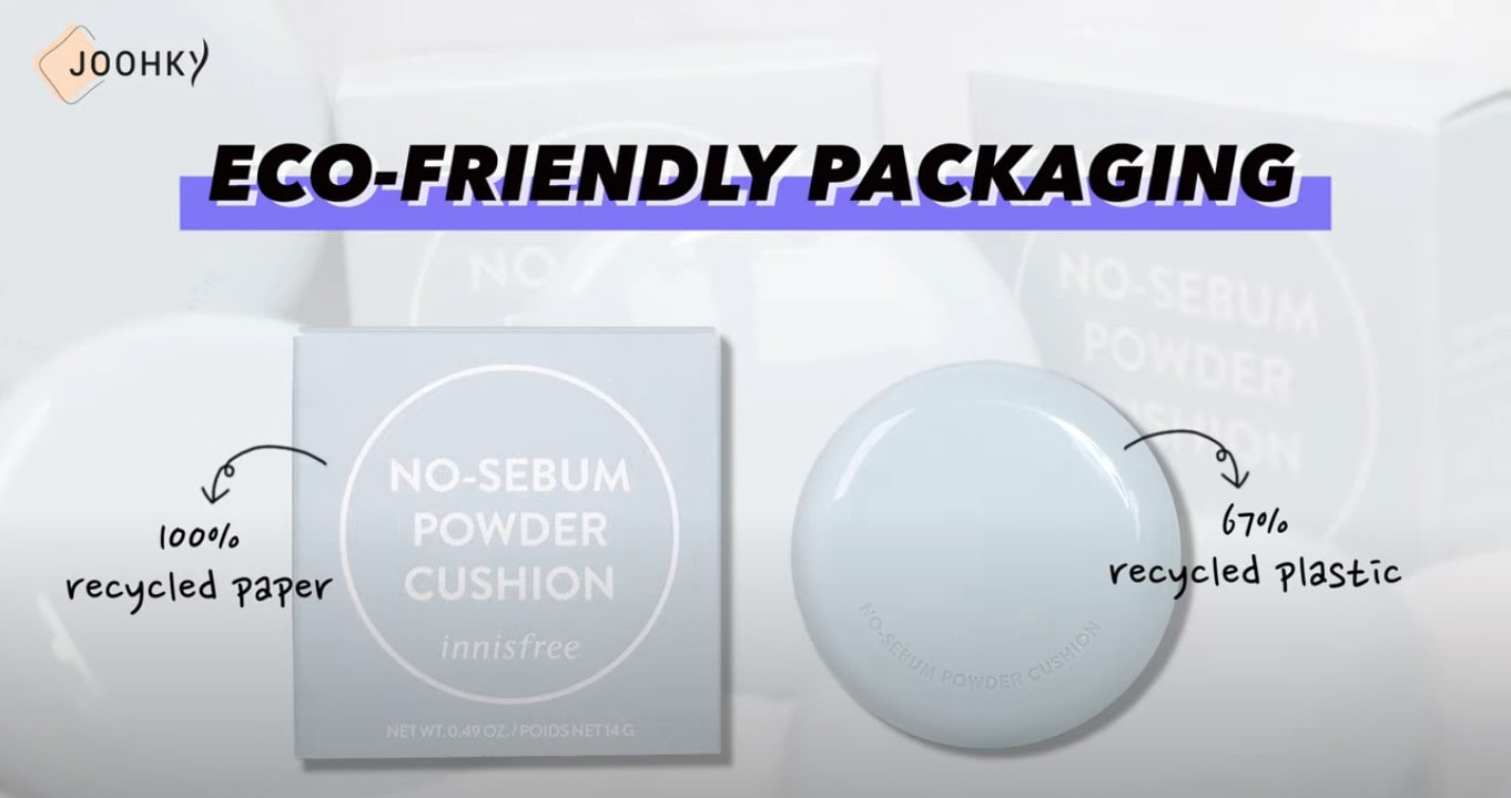 innisfree No Sebum Powder Cushion Review