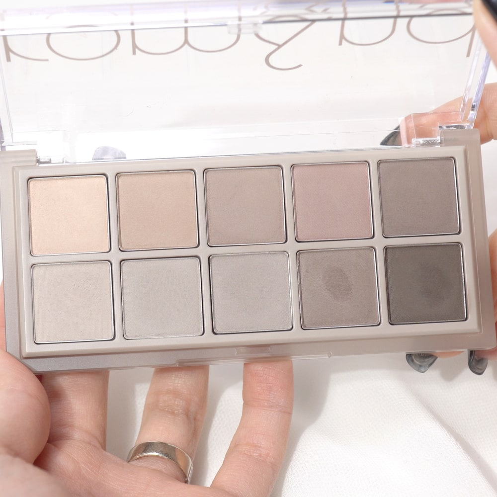 COOL TONE EYESHADOW PALETTE COMPARISON AND SWATCH REVIEW