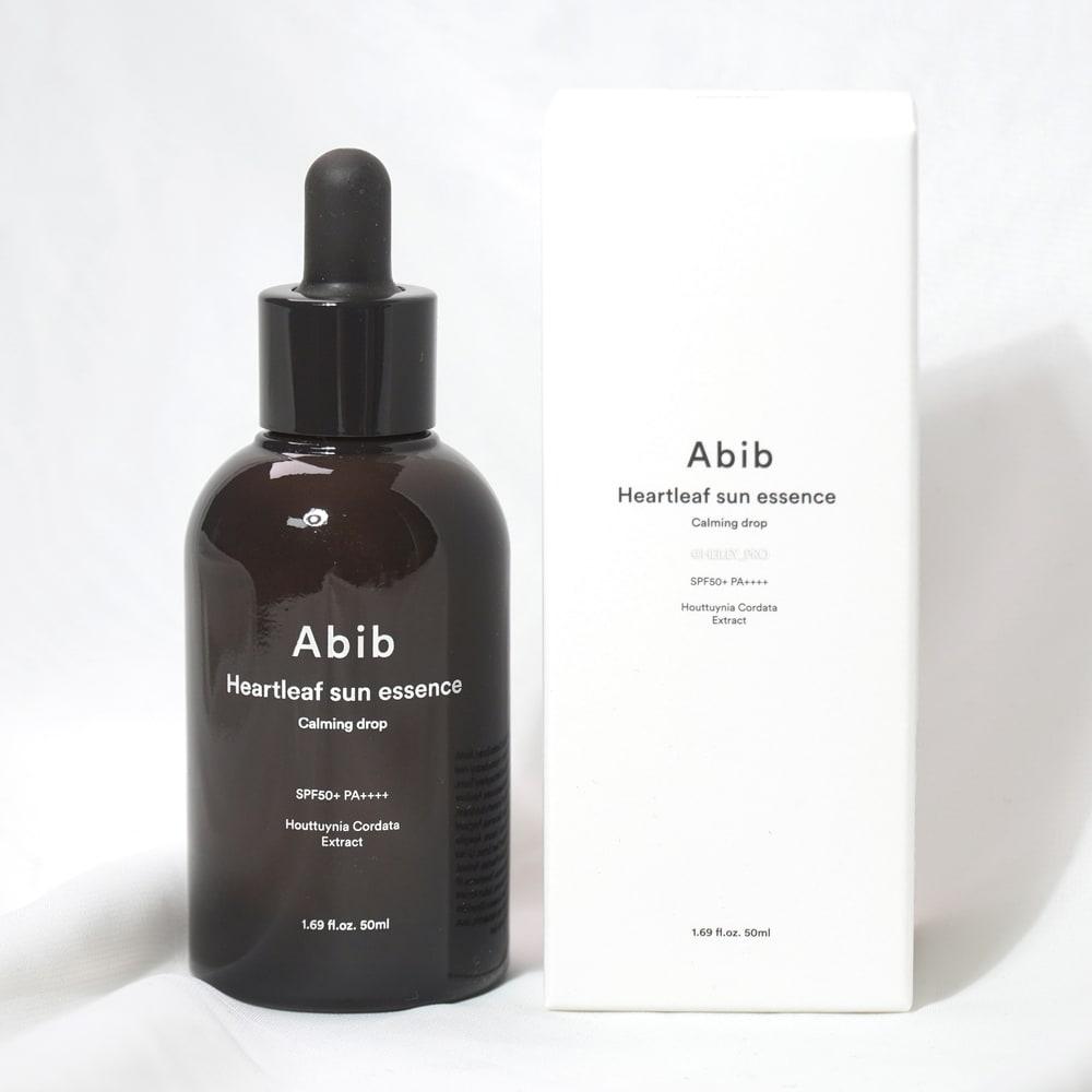 ABIB'S HEARTLEAF SUN ESSENCE CALMING DROP REVIEW